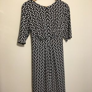 Maggie London print dress